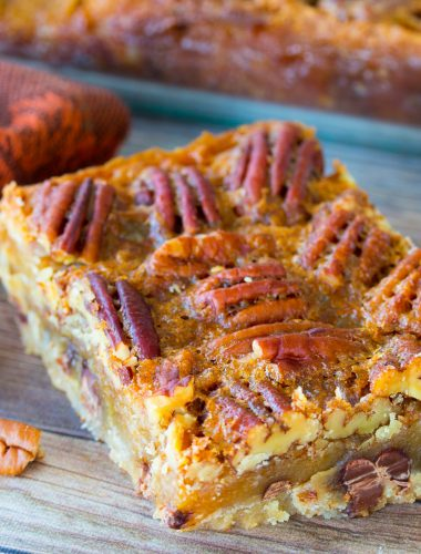 Pecan Pie Bars with Shortbread Crust
