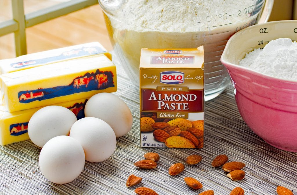 Almond Butter Cookie Ingredients