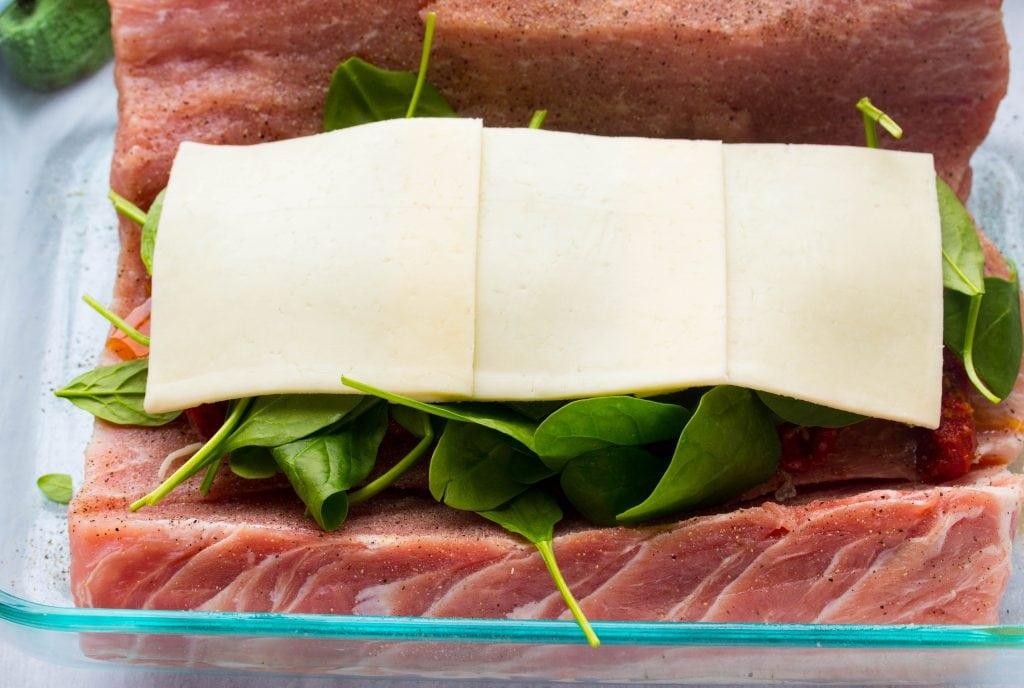 how to make stuffed pork loin
