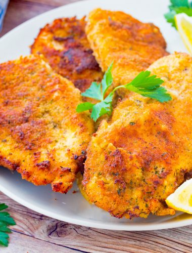 Best Italian Chicken Cutlets