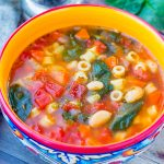Instant Pot Minestrone Soup Recipe