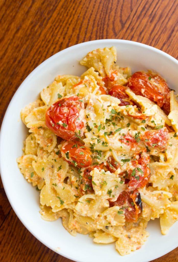 feta cheese recipes pasta