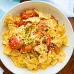 Feta cheese pasta tiktok recipe