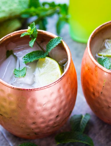 Limoncello Moscow Mule