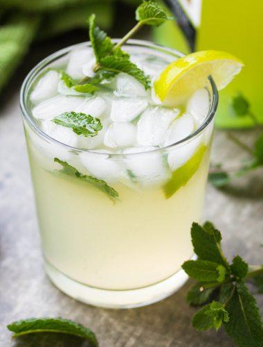 Limoncello Mojito Cocktail