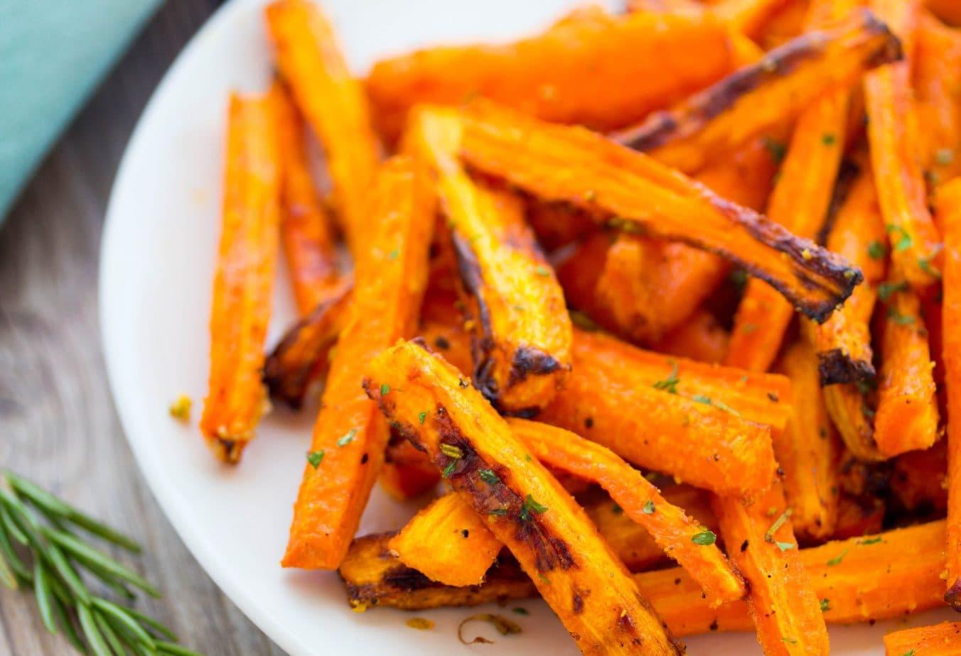Air Fry Carrots