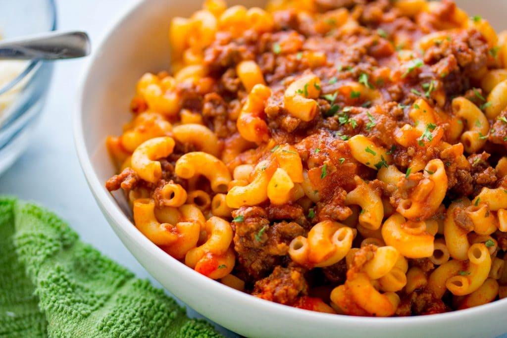 Beefaroni recipe