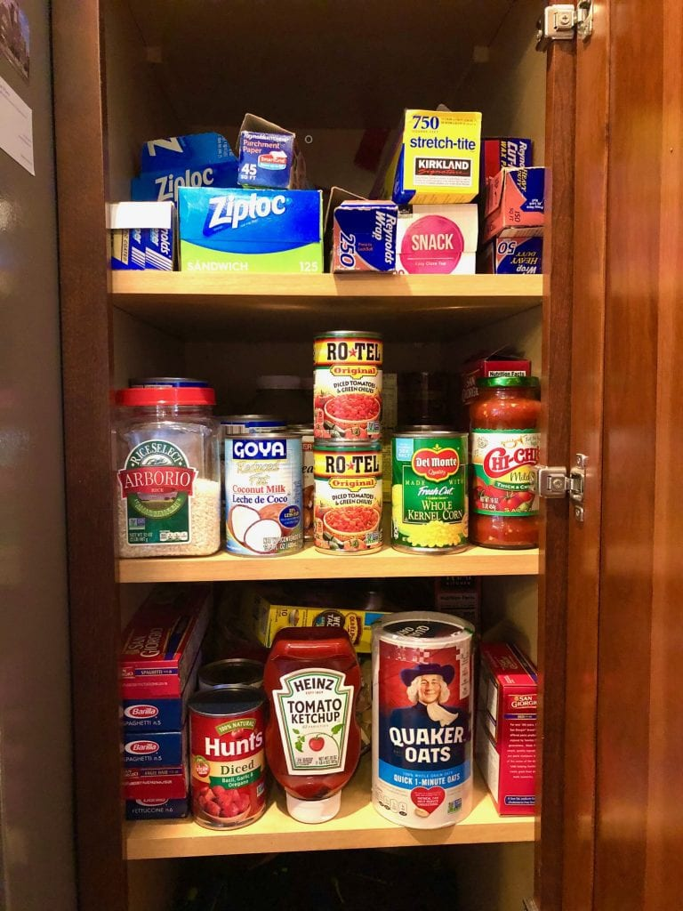 A Complete Checklist of Pantry, Refrigerator and Freezer Basics
