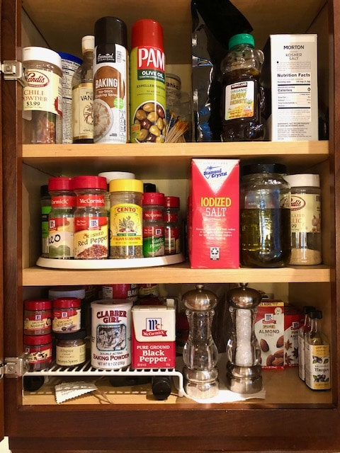 pantry list checklist for beginner cooks