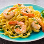 Easy Shrimp Scampi Fettuccine
