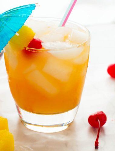 Pineapple Coconut Rum Cocktail