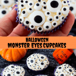 Halloween Monster Eyes Cupcakes