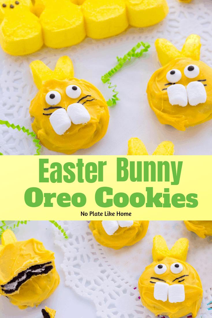 DIY Easter Bunny Oreo Cookies