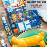PAW Patrol Ham& Cheese Crescent Roll Ups