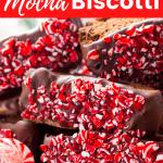 Peppermint Mocha Biscotti
