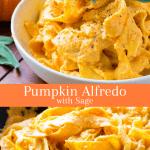 Pumpkin Alfredo with Sage