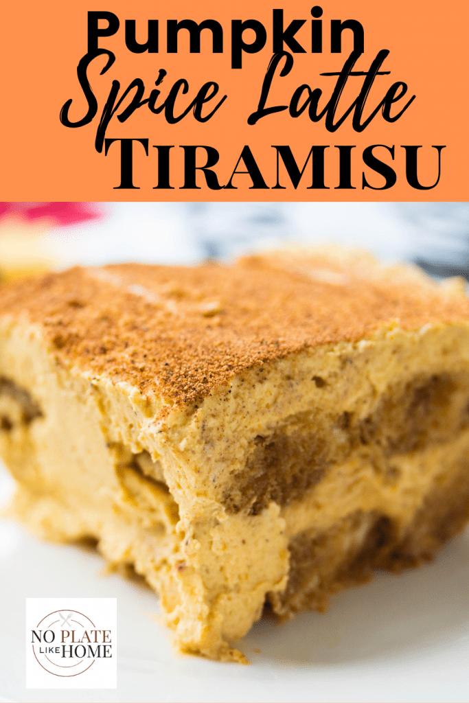 Pumpkin Spice Latte Tiramisu