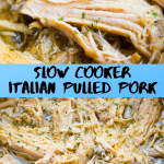 Slow Cooker Italian Pulled Pork