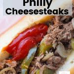 Philly Cheesesteak recipe Crockpot