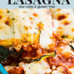 Zucchini Lasagna Pin for Pinterest